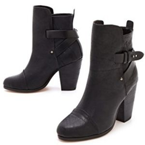 RAG & BONE KINSEY SUEDE ANKLE BOOTS SIZE 6.5